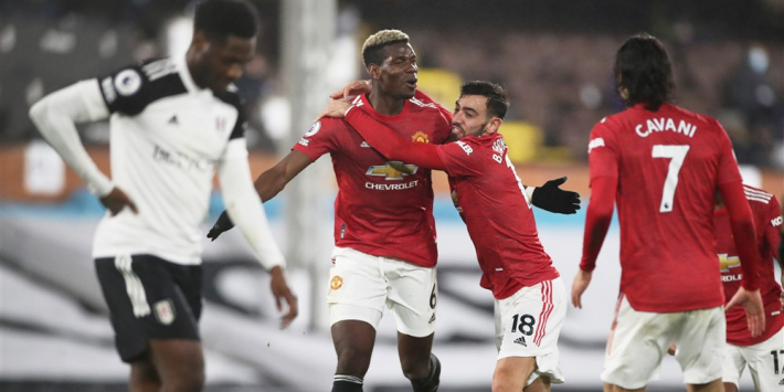 Pogba weer belangrijk na vroege achterstand United