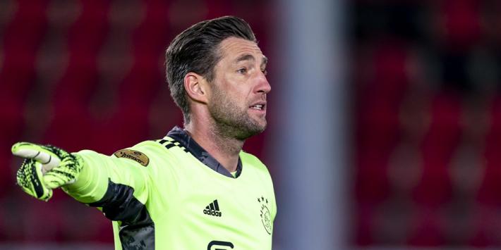 Overmars bevestigt: Stekelenburg gaat contract verlengen bij Ajax
