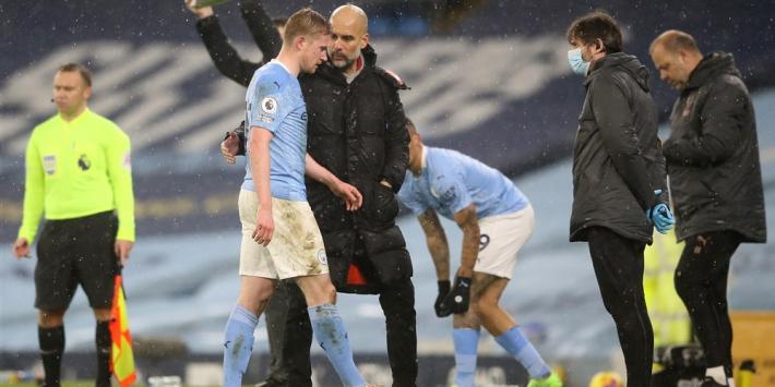 De Bruyne en Vardy voorlopig buitenspel in de Premier League