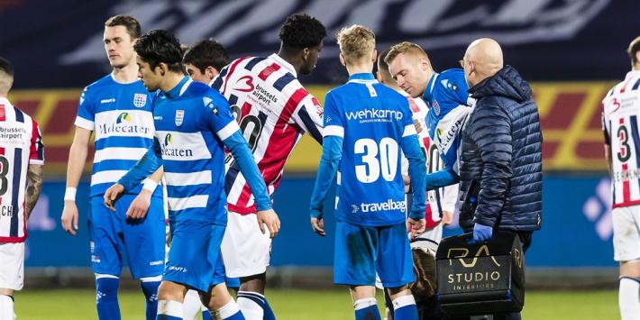 """Woede bij Willem II om rood Wriedt: """"Rekende op VAR"""""""