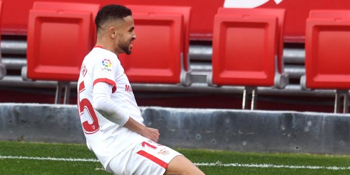 Nieuwe topscorer En Nesyri schiet Sevilla naar plek drie