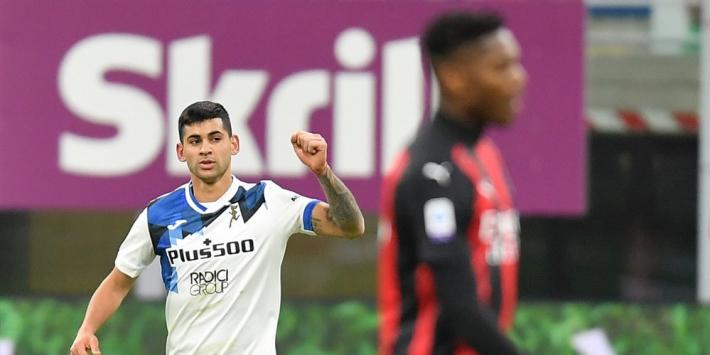 Koploper Milan in eigen huis vernederd door Atalanta (0-3)