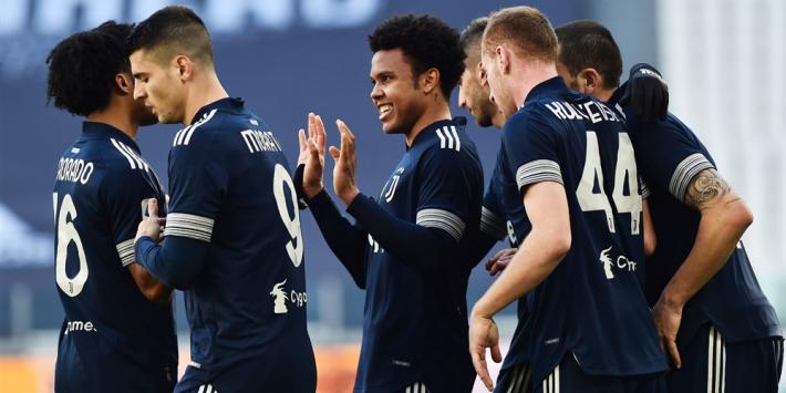 Juventus wint bij rentree De Ligt; Schouten ongelukkig