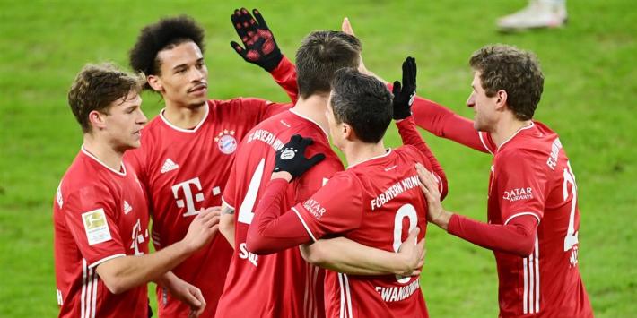 Bayern München verslaat een armoedig SS Lazio