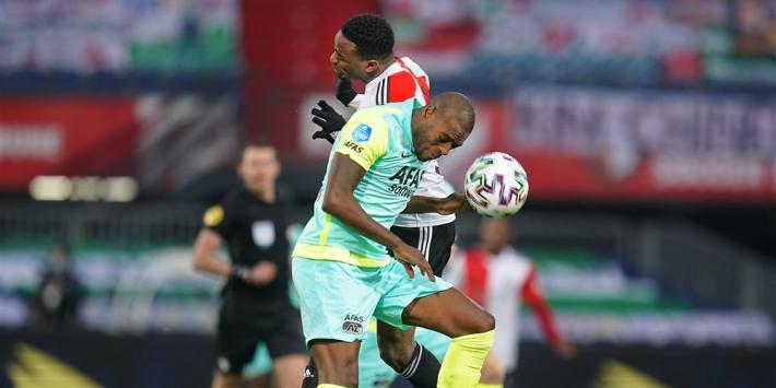 AZ zet na zege voorlopige streep door titelaspiraties Feyenoord