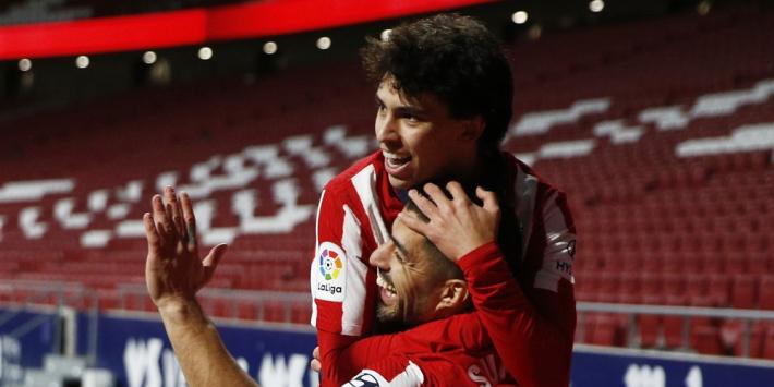 Atlético laat zich niet van de wijs brengen door wereldgoal