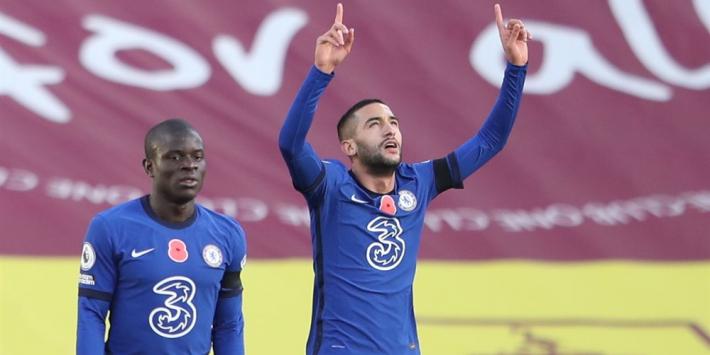 Ziyech aan de aftrap bij Chelsea, Hoedt bij Lazio niet