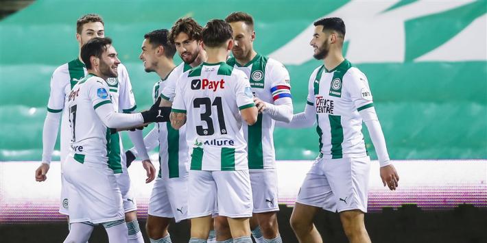 FC Groningen boekt probleemloze zege op zeer zwak ADO