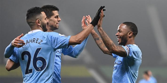 Manchester City zet dubbele superreeks voort bij Burnley