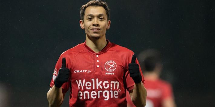 """Almere verlengt contract Alhaft: """"Met de club naar de Eredivisie"""""""