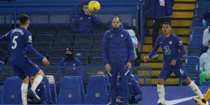 Chelsea-debuut Tuchel verloopt teleurstellend