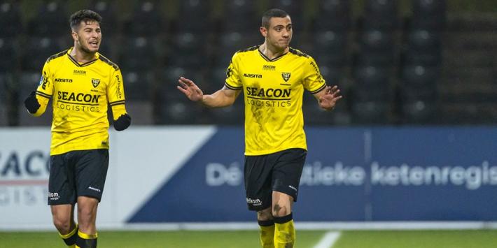 VVV-Venlo mogelijk zonder Giakoumakis tegen Feyenoord