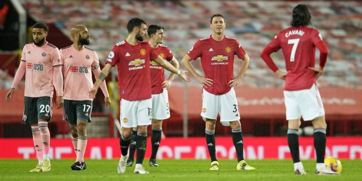 Manchester United blameert zich tegen hekkensluiter