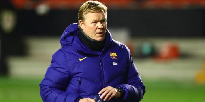 Koeman vond Barcelona 'superieur' en had penalty willen hebben