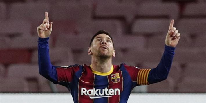 Dit zijn de regels waarom FC Barcelona Messi niet mag inschrijven