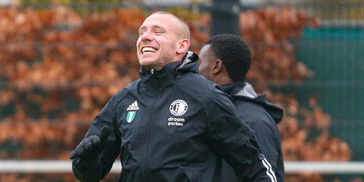 Van Beek na vijftien jaar weg bij Feyenoord: