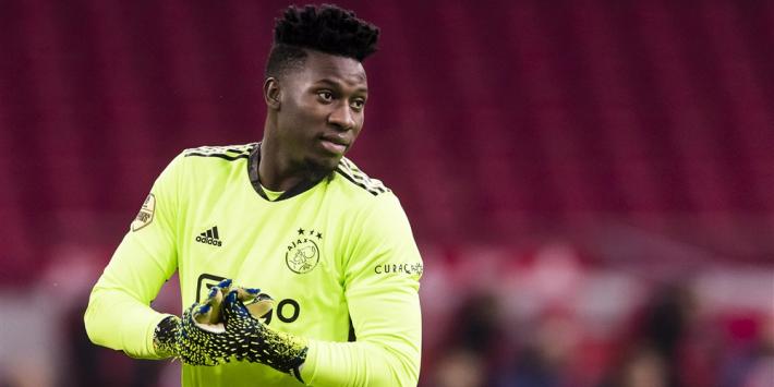 Ajax gaf kamp-Onana vorige week 'ineens' een deadline