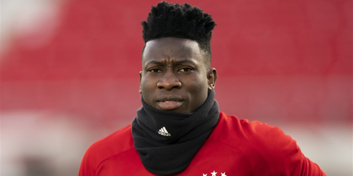Ten Hag: Ajax met Onana in gesprek over contractverlenging
