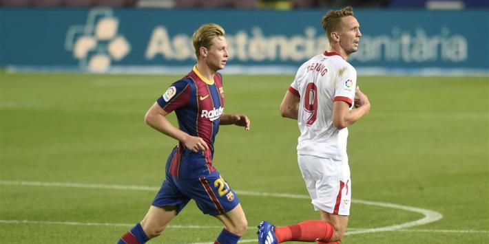 'Corrigerende Frenkie de Jong stijgt in hiërarchie bij Barça'