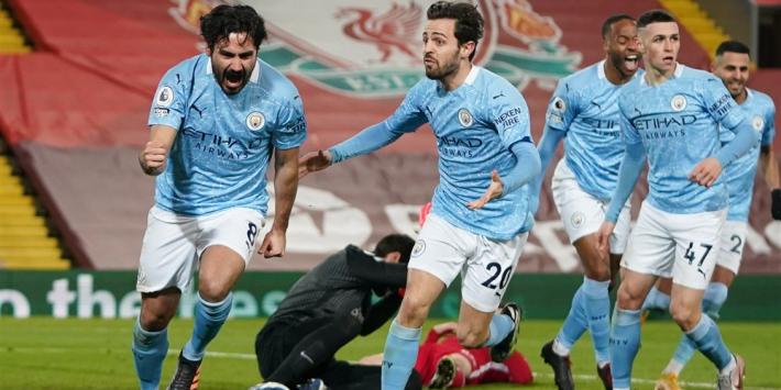 Man City dankt Alisson en geeft op Anfield duidelijk signaal af