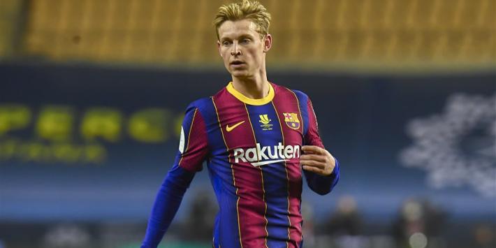 De Jong en Messi verschijnen gewoon aan aftrap bij Barça