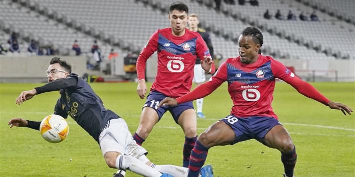 """Lille-coach ziet nog kansen tegen Ajax: """"Heeft ons geraakt"""""""