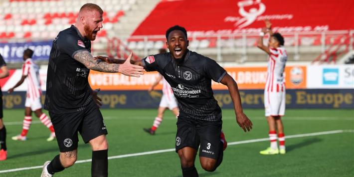 Almere City FC kopt zich langs TOP Oss terug naar KKD-top