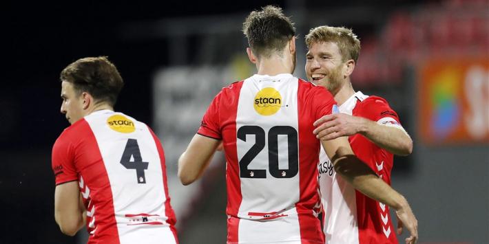 """Vreugde bij FC Emmen: """"Dit was echt onze laatste strohalm"""""""