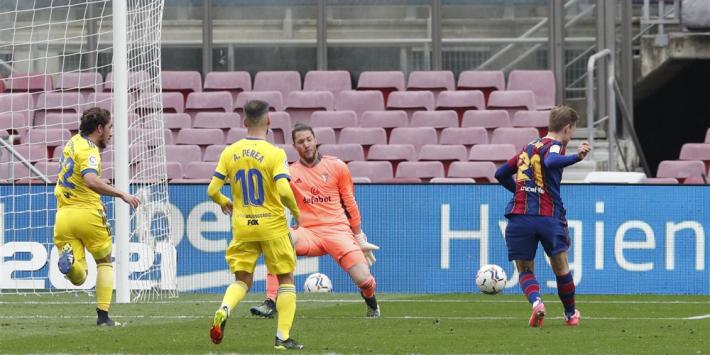 Barça profiteert nauwelijks van puntverlies Atlético