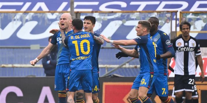 Nuytinck kopt Udinese naar punt tegen bankzitter Zirkzee