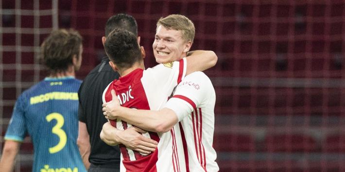 """Ten Hag kritisch op Ajax: """"Lag aan instelling"""""""