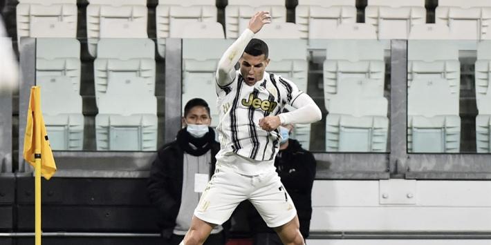 Superieure Ronaldo gidst Juve langs hekkensluiter Crotone