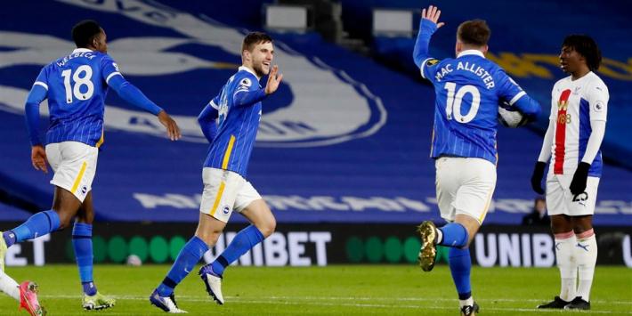 Weinig vreugde bij Veltman na eerste Premier League-goal