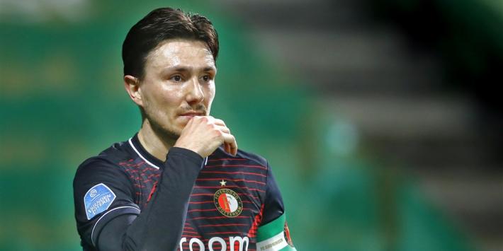 Feyenoord weet ook op bezoek bij FC Groningen niet te winnen