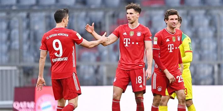 Bayern vindt topvorm terug; weer pijnlijke middag voor Schalke 04