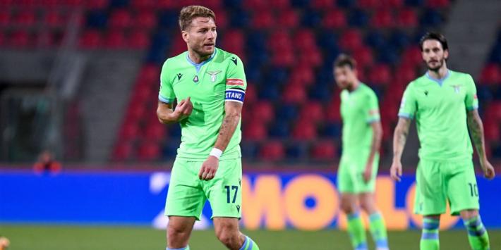 Bologna geeft CL-afstraffing Lazio pijnlijk vervolg