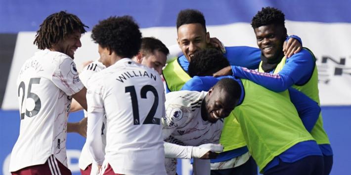 Arsenal knokt zich ook tegen Leicester terug van achterstand