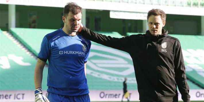 Rentree van Velthuizen in Eredivisie loopt uit op deceptie