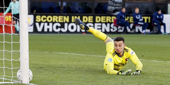 Feyenoord opnieuw zonder Bijlow, basisplaats voor Geertruida