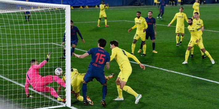 Atlético Madrid wint weer eens: met enig fortuin van Villarreal