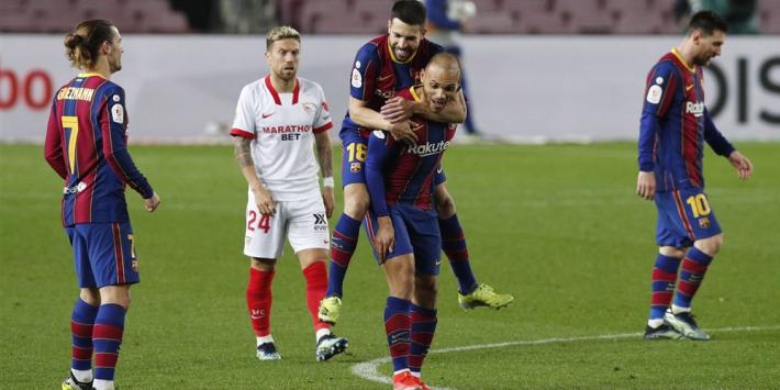 Barça haalt op Twitter uit naar Sevilla: 'Voetbal draait om respect'