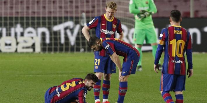 Koeman krijgt slecht nieuws: weer blessure bij belangrijke Piqué