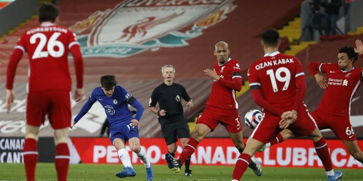 Liverpool lijdt historische vijfde thuisnederlaag op rij