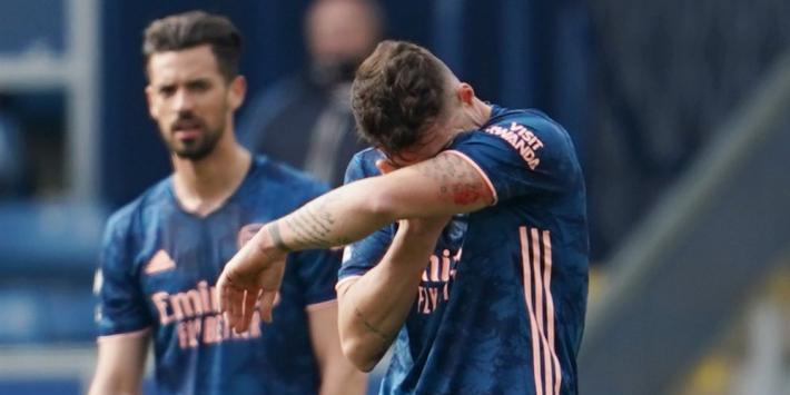 Kolderieke blunder Xhaka doet Arsenal de das om