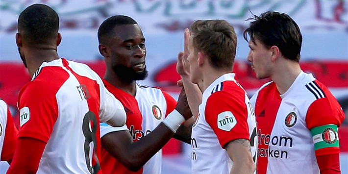 Feyenoord leidt VVV-Venlo met zes treffers naar de pijnbank