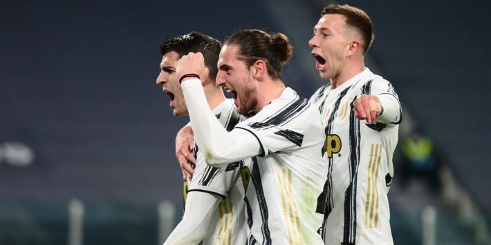 Gokje met Ronaldo pakt goed uit voor Juventus in kraker