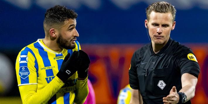 """Van der Eijk baalt: """"Had liever geen penalty willen geven"""""""