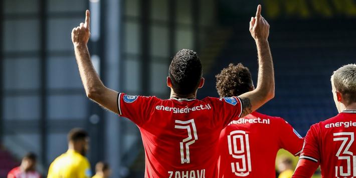 PSV volgt het voorbeeld Ajax en wint op bezoek in Sittard