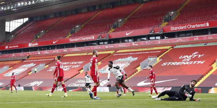Ongelofelijke crisis Liverpool: ook Fulham wint op Anfield