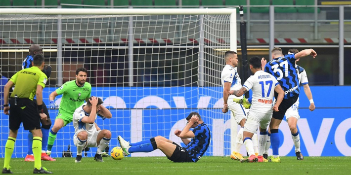 Inter steviger aan kop na zakelijke zege tegen Atalanta